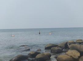 Snorkelling on Pigeon Island