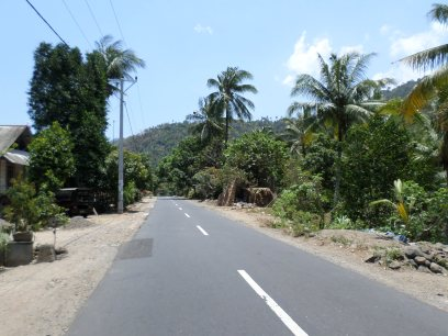 The road from Rinjani to Seggigi